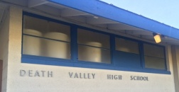 Death Valley High School Sign