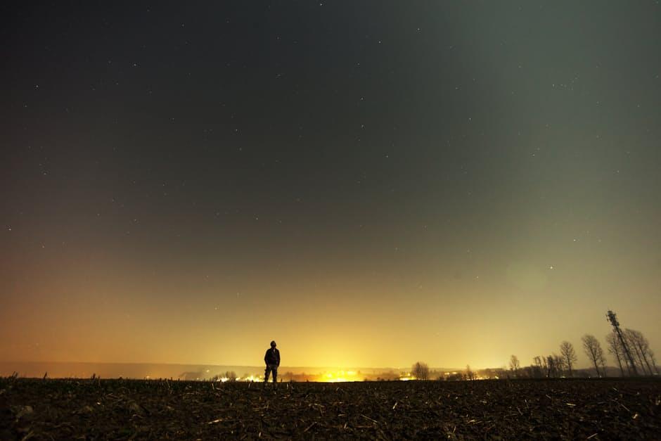 sky-man-person-night